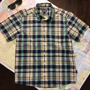 Patagonia Button Down Short Sleeve Shirt
